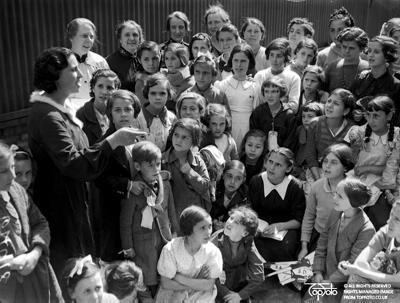 Basque refugee children