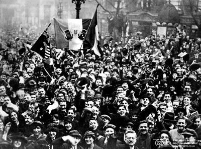 WW1 refugees