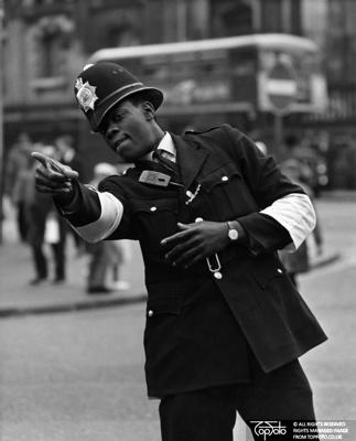 London ' s first coloured Police