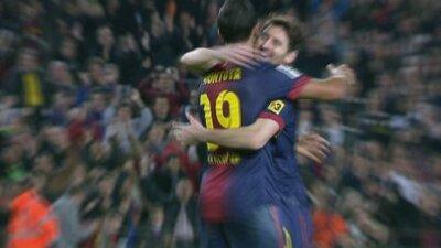 Messi, amb el