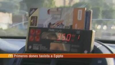 Els matins: A Egipte, les dones ja poden fer de taxista
