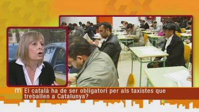 Els matins: Els taxistes han d'entendre el català?