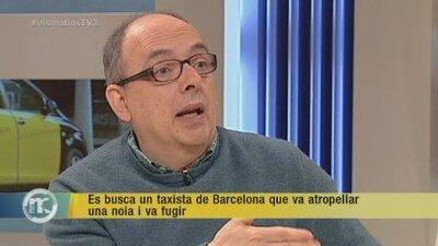 Els matins: Es busca un taxista de Barcelona que va atropellar una noia i va fugir