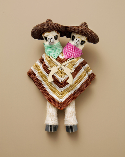 Broche 'Gonzales Brothers' uit de serie 'Once upon a time in my West' (part 1)