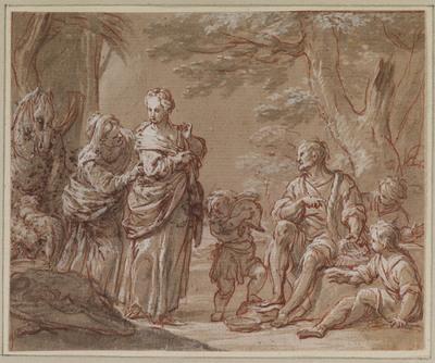 Herminia bij de herders