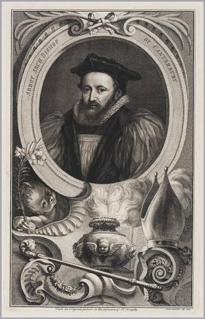 The Heads of Illustrious persons: Abbot, aartsbisschop van Canterbury