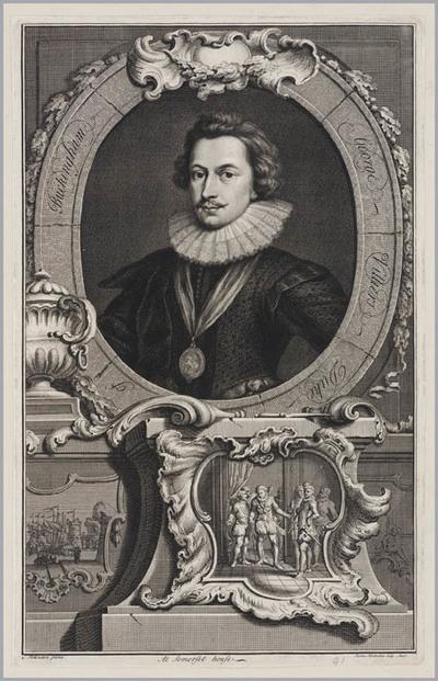 The Heads of Illustrious persons: George Villiers hertog van Buckingham