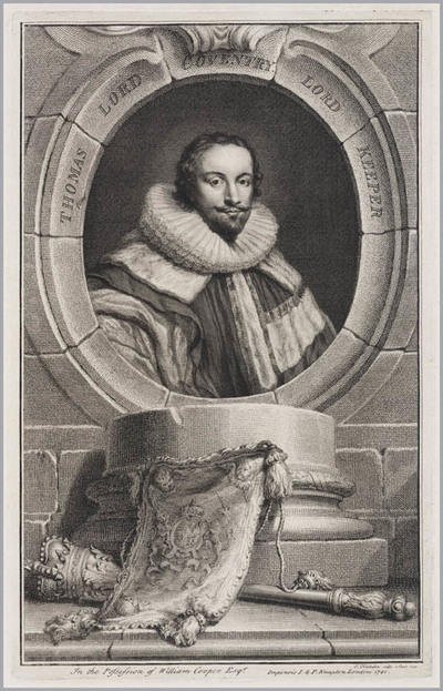 The Heads of Illustrious persons: Thomas Lord Coventry