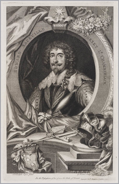 The Heads of Illustrious persons: Edward Sackville Earl of Dorset Lord Chamberlain
