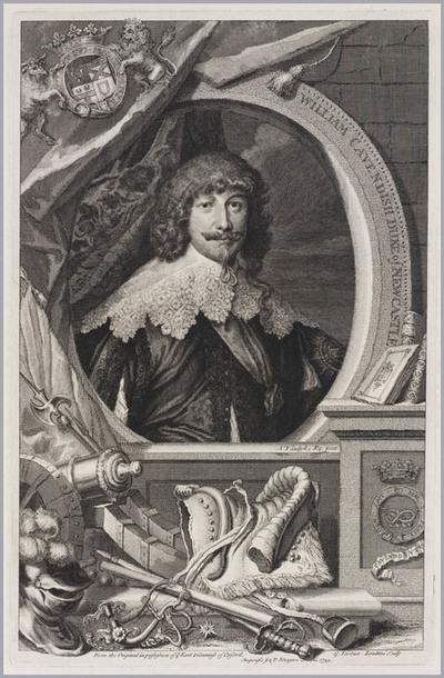 The Heads of Illustrious persons: William Cavendish hertog van Newcastle