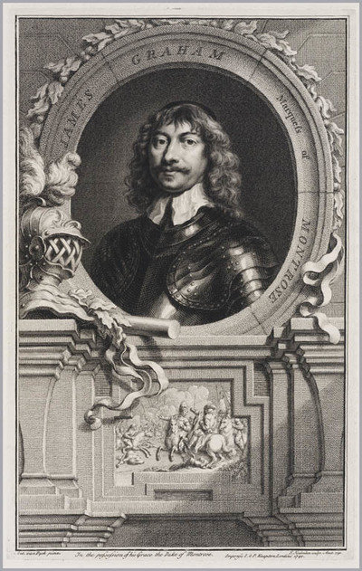 The Heads of Illustrious persons: James Graham markies van Montrose