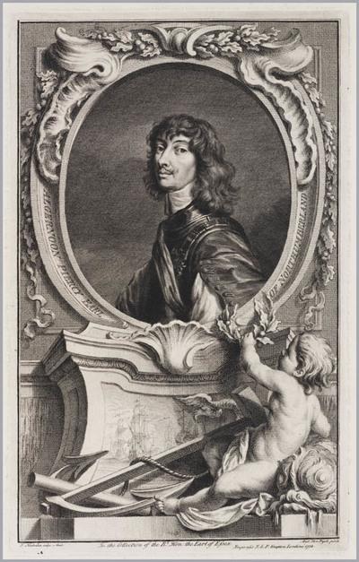 The Heads of Illustrious persons: Algernoon Piercy hertog van Northumberland