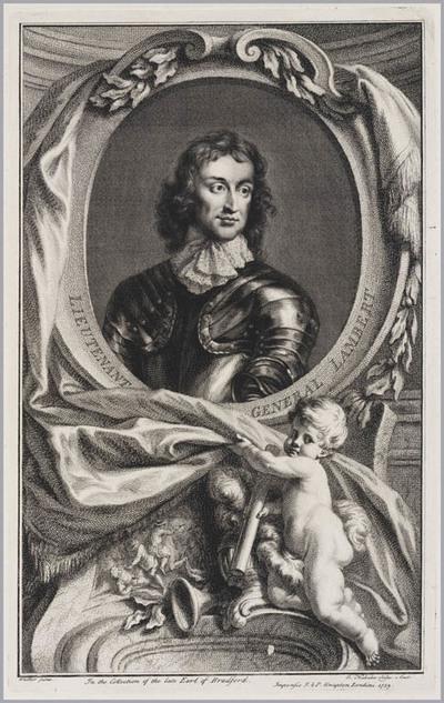 The Heads of Illustrious persons: luitenant generaal Lambert