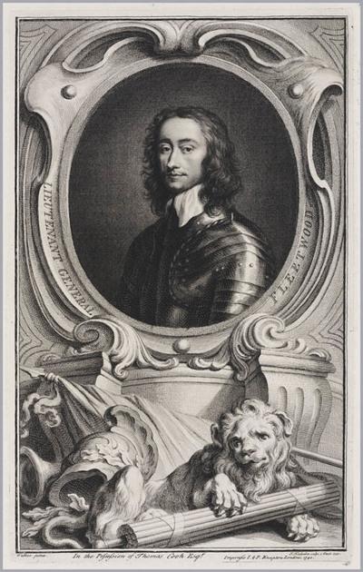 The Heads of Illustrious persons: luitenant generaal Fleetwood