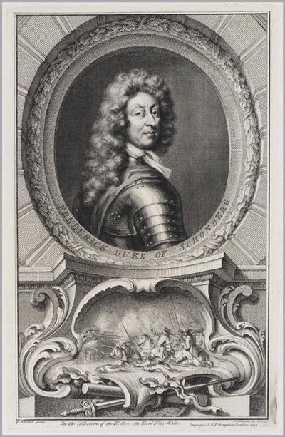 The Heads of Illustrious persons: Friedrich hertog van Schönberg