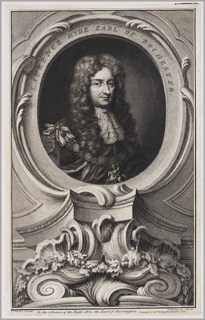 The Heads of Illustrious persons: Laurence Hyde graaf van Rochester