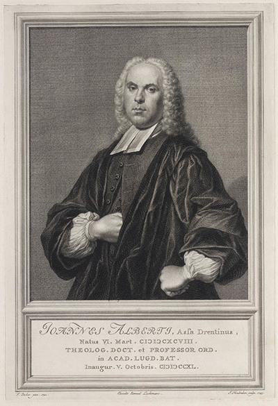 Portret Johannes Alberti