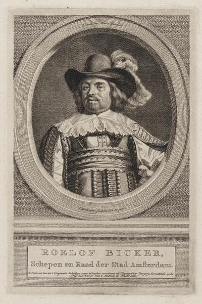 Portret Roelof Bicker