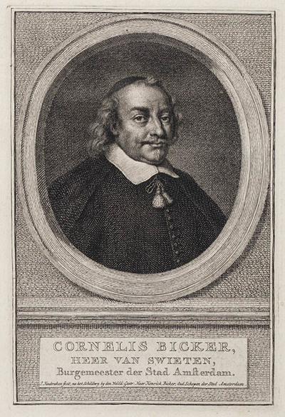 Portret Cornelis Bicker heer van Swieten
