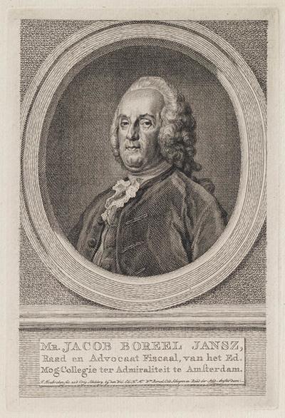 Portret Mr. Jacob Boreel Jansz.
