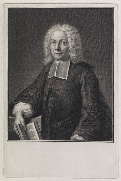 Portret Johann August Buxtorf