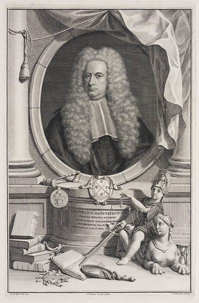 Portret Cornelis van Bynkershoek