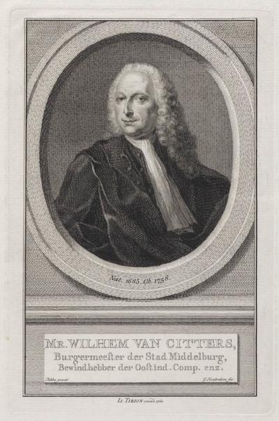 Portret Willem van Citters, burgemeester Amsterdam