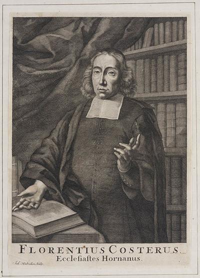Portret Florentius Costerus