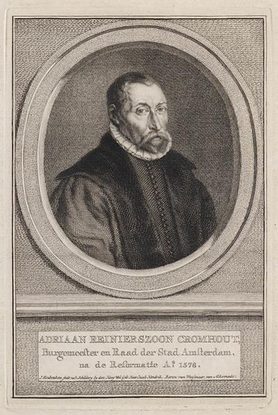 Portret Adriaan Reinierszoon Cromhout