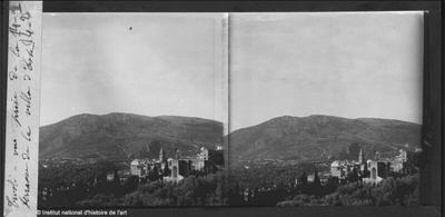 Tivoli. Vue prise de la Terrasse de la Villa d'Este