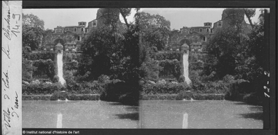 [Tivoli] Villa d'Este. Le Château d'eau
