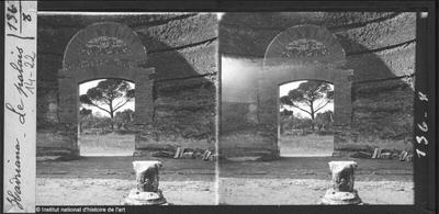 [Tivoli] Hadriana. Le palais