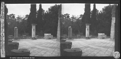 [Tivoli] Villa Hadriana. Chambre aux colonnes C de la région nord-est