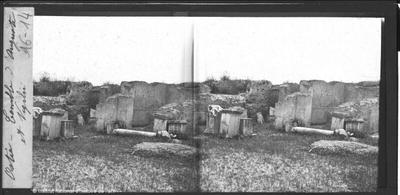 Ostie. Temple d'Auguste et Vigilii
