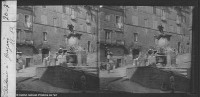 Fontaine à Genzano