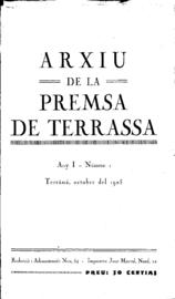 Arxiu de la premsa de Terrassa