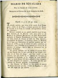 Diario de Igualada (1808)
