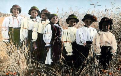 Children from Romania