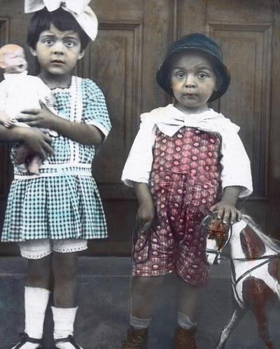 Children from Brazil