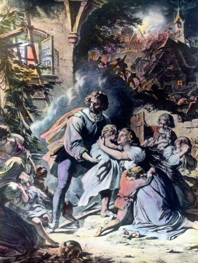 Schiller: Lied von der Glocke, Glockenguß