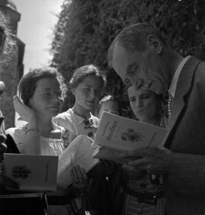 Dichtertreffen bei Hans Grimm, Lippoldsberg