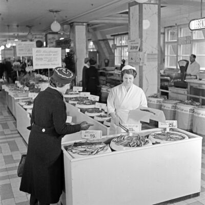 Lebensmittelabteilung