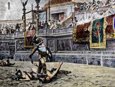 Gladiator im Kolosseum