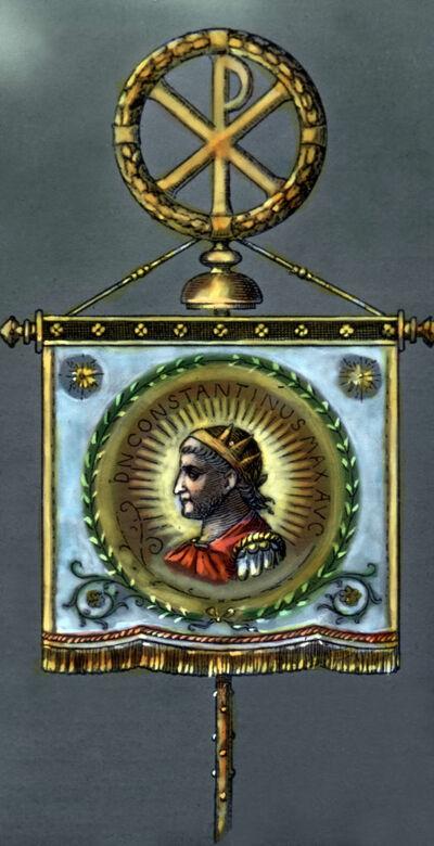 Standarte des Kaisers Konstantin