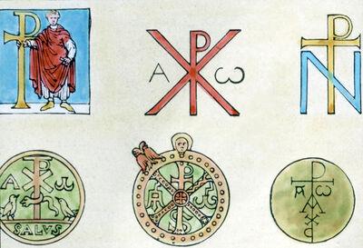 Das konstantinische Kreuzzeichen