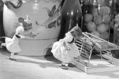 Ausschnitt aus einem Trickfilm der Gebrüder Diehl, Deutsches Reich 1930er Jahre. Film still of a cartoon by the Brothers Diehl, Germany 1930s.