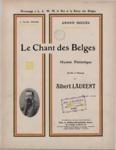 Le chant des Belges hymne patriotique