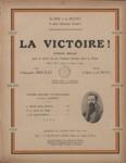 La victoire! hymne belge