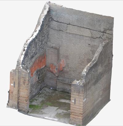 3D model of Sacello at Herculaneum