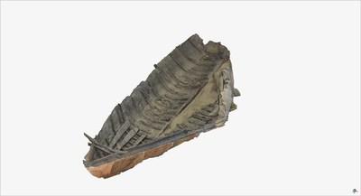3D model of the Roman Boat at Herculaneum